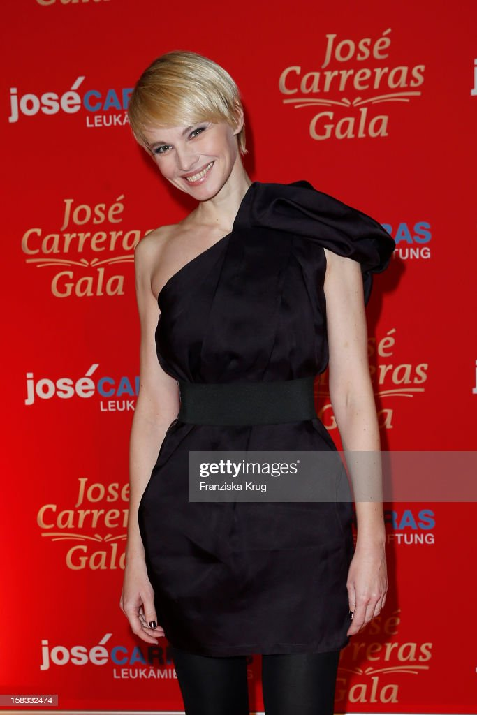 Susann Atwell attends the 18th Annual Jose Carreras Gala on December 13 2012 in Leipzig Germany