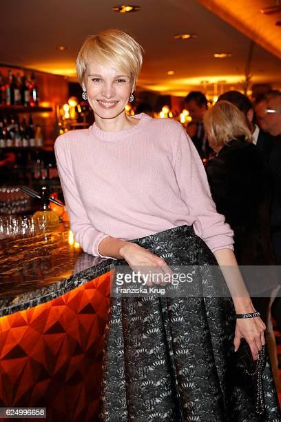 Susann Atwell attends the Nikkei Nine restaurant opening at The Fairmont Hotel Vier Jahreszeiten on November 21 2016 in Hamburg Germany