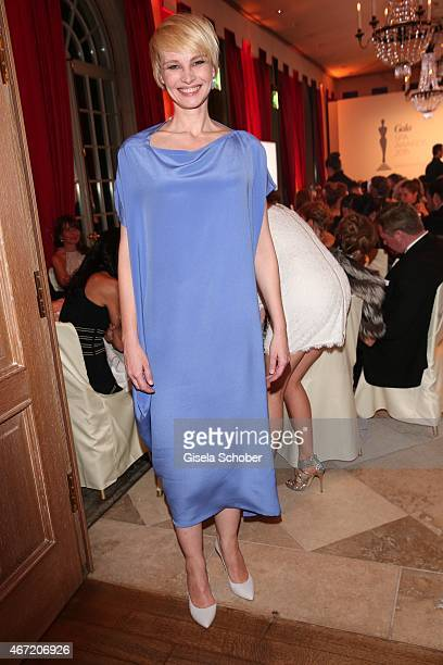 Susann Atwell during the Gala Spa Awards 2015 at Brenners ParkHotel Spa on March 21 2015 in BadenBaden Germany