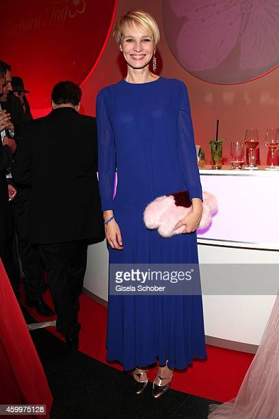 Susann Atwell during the Mon Cheri Barbara Tag 2014 at Haus der Kunst on December 4 2014 in Munich Germany
