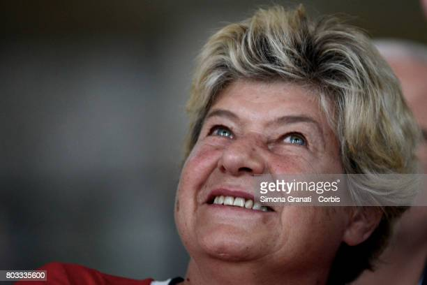 Susanna Camusso Secretary General of CGIL Union during the XVIII Confederal Congress Of The CISL Trade Union on June 29 2017 in Rome Italy