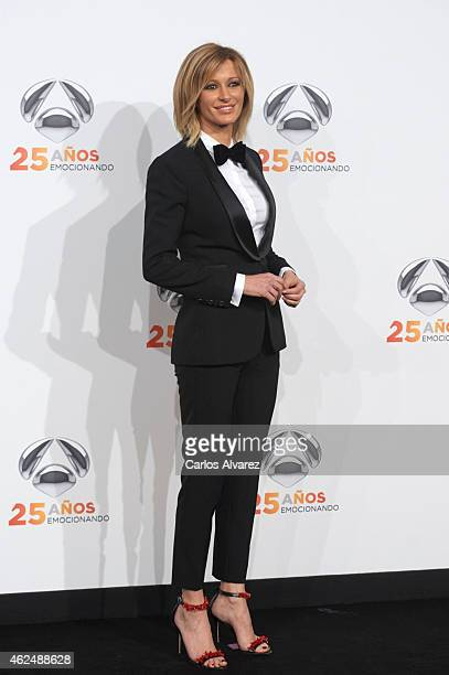 Susanna Griso attends Antena 3 TV Channel 25th anniversary party at the Palacio de Cibeles on January 29 2015 in Madrid Spain