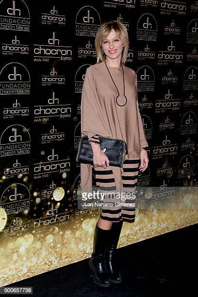 Susanna Griso attends charity 'Chocron Calendar' presentation at Neptuno Palace on December 9 2015 in Madrid Spain