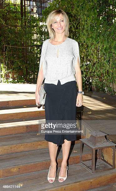 Susanna Griso attends Maria Zurita's 40 birthday on September 20 2015 in Madrid Spain