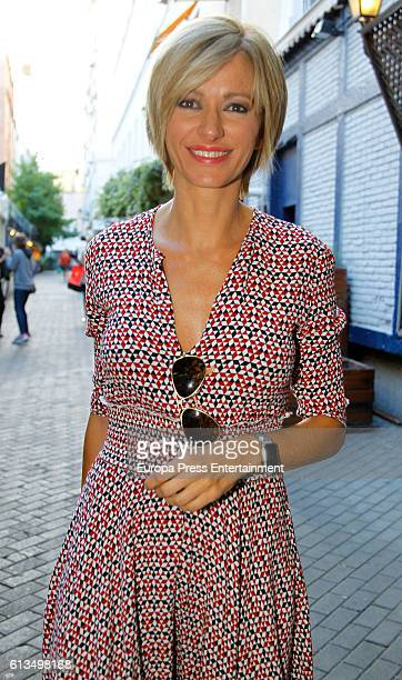 Susanna Griso attends Maria Zurita's 41th birthday on September 15 2016 in Madrid Spain