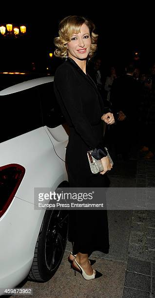 Susanna Griso attends 'Telva Special Cooperation Award' during the 'Telva Beauty' 2014 awards on December 2 2014 in Madrid Spain