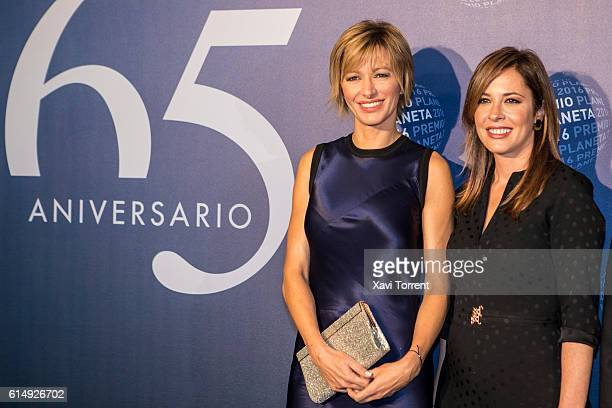 Susanna Griso attends the 2016 Premio Planeta award on October 15 2016 in Barcelona Spain