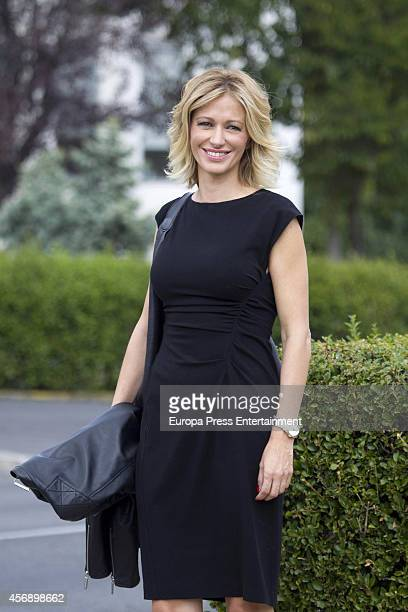 Susanna Griso is sighted as she celebrates her 45th birthday on October 8 2014 in Madrid Spain