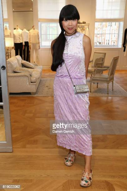 Susanna Lau attends the Dior cocktail party to celebrate the launch of Dior Catwalk by Alexander Fury on July 19 2017 in London England