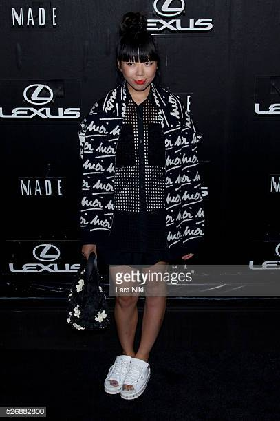 Susanna Lau attends the 'Lexus Design Disrupted' at Pier 36 in New York City �� LAN