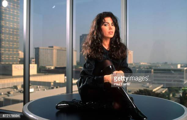 Susanna Lee Hoffs is an American vocalist guitarist and actress best known for being a member of the girl band The Bangles She is photographed at the...