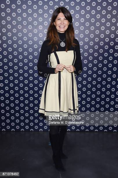 Susanna Messaggio attends Opening Garage Italia Milano on November 7 2017 in Milan Italy