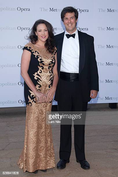 Susanna Phillips attends the Metropolitan Opera 20142015 season opening of 'The Marriage of Figaro' at The Metropolitan Opera House in New York City...
