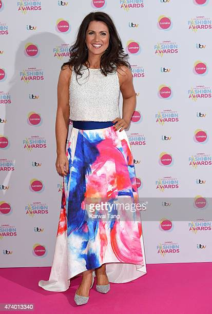 Susanna Reid attends Lorraine's High Street Fashion Awards at Grand Connaught Rooms on May 19 2015 in London England