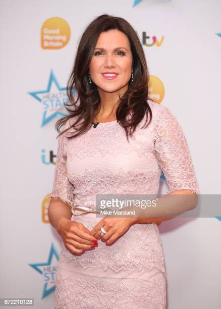 Susanna Reid attends the Good Morning Britain Health Star Awards on April 24 2017 in London United Kingdom