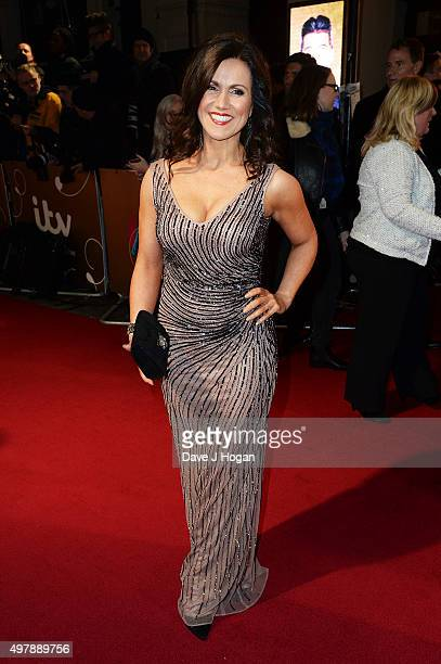 Susanna Reid attends the ITV Gala at London Palladium on November 19 2015 in London England
