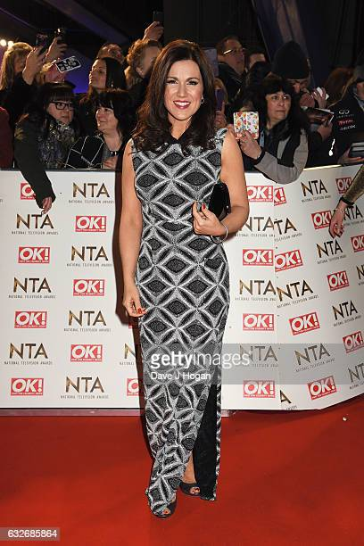 Susanna Reid attends the National Television Awards at Cineworld 02 Arena on January 25 2017 in London England