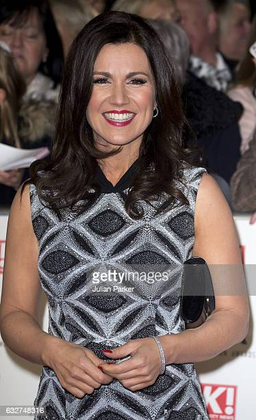 Susanna Reid attends the National Television Awards at The O2 Arena on January 25 2017 in London England