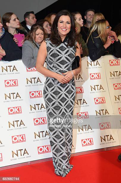 Susanna Reid attends the National Television Awards on January 25 2017 in London United Kingdom