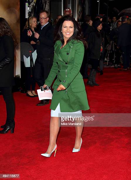 Susanna Reid attends the premiere of 'Edge Of Tomorrow' on May 28 2014 in London United Kingdom