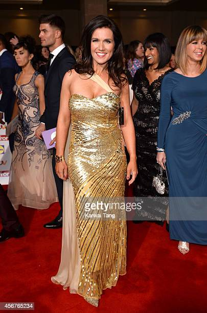 Susanna Reid attends the Pride of Britain awards at The Grosvenor House Hotel on October 6 2014 in London England