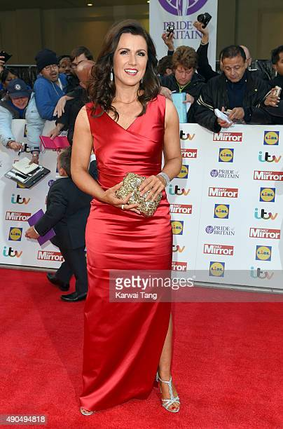 Susanna Reid attends the Pride of Britain awards at The Grosvenor House Hotel on September 28 2015 in London England