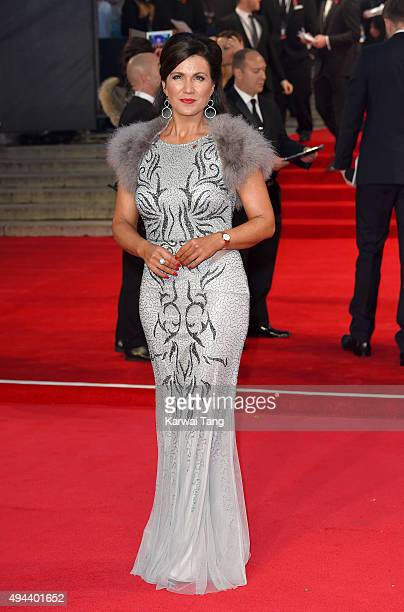 Susanna Reid attends the Royal Film Performance of 'Spectre' at the Royal Albert Hall on October 26 2015 in London England
