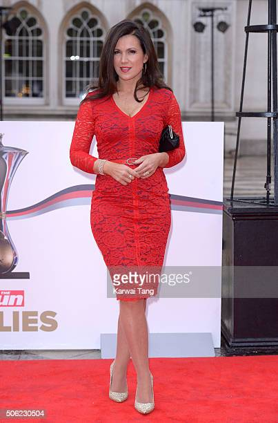 Susanna Reid attends the Sun Military Awards at The Guildhall on January 22 2016 in London England