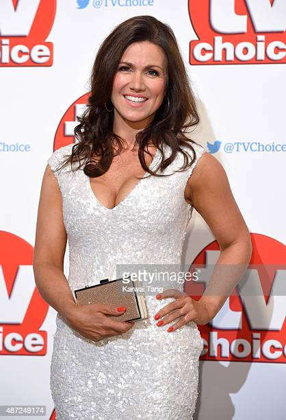 Susanna Reid attends the TV Choice Awards 2015 at Hilton Park Lane on September 7 2015 in London England
