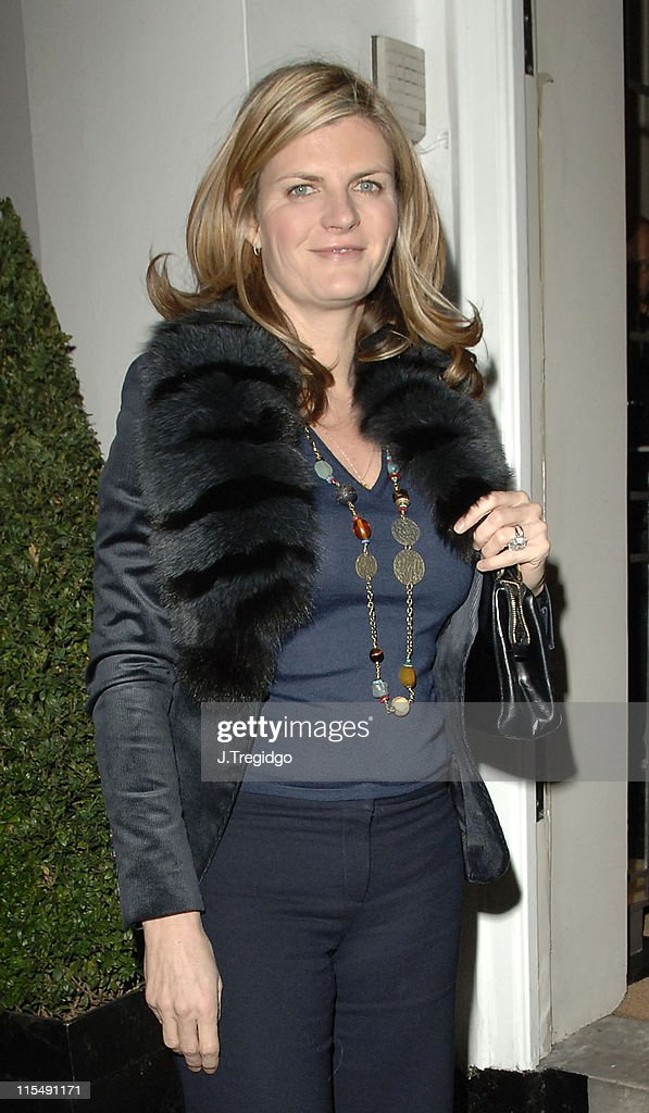 Susannah Constantine Sighting at the Allegra Hicks Shop in London - November