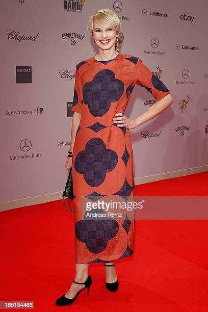 Susanne Atwell arrives at Tribute To Bambi at Station on October 17 2013 in Berlin Germany