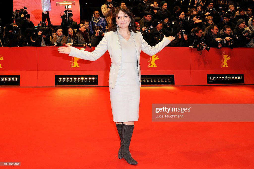 Susanne Bier attends the 'Side Effects' Premiere during the 63rd Berlinale International Film Festival at Berlinale Palast on February 12, 2013 in Berlin, Germany.