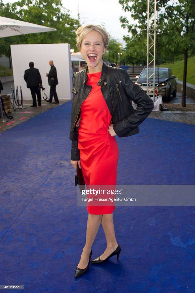 Susanne Bormann attends the producer party 2014 (Produzentenfest) of the Alliance German Producer - Cinema And Television on June 25, 2014 in Berlin, Germany.