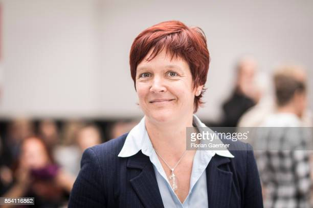 Susanne Ferschl Member of the Bundestag Member of the Party 'Die Linke' on September 26 2017 in Berlin Germany