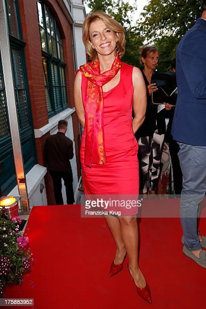 Susanne Holst attend the 'Nacht der Medien 2013' on August 09 2013 in Hamburg Germany