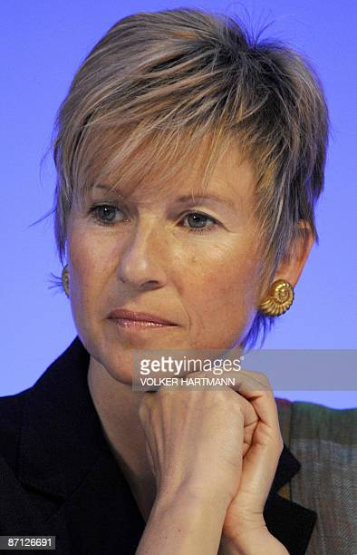Susanne Klatten Germany's richest woman and major shareholder in German speciality chemicals group Altana attends the group's annual general meeting...