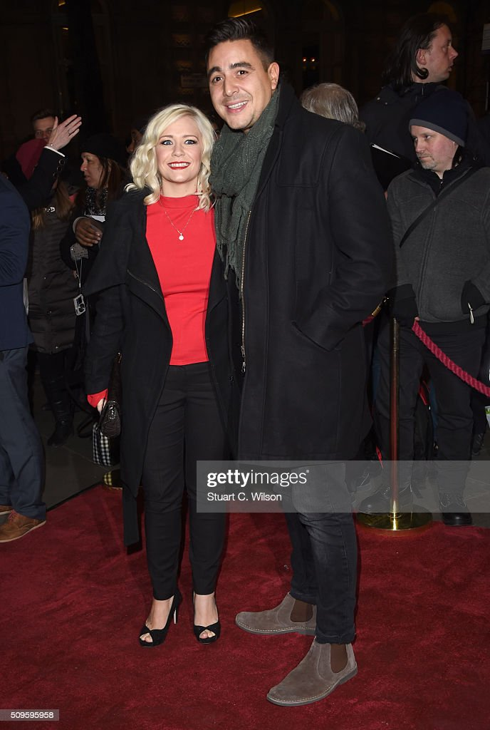 Susanne Shaw and <a gi-track='captionPersonalityLinkClicked' href=/galleries/search?phrase=Noel+Sullivan&family=editorial&specificpeople=2721574 ng-click='$event.stopPropagation()'>Noel Sullivan</a> attend the World Premiere of 'End Of Longing', written by and starring Matthew Perry at Playhouse Theatre on February 11, 2016 in London, England.