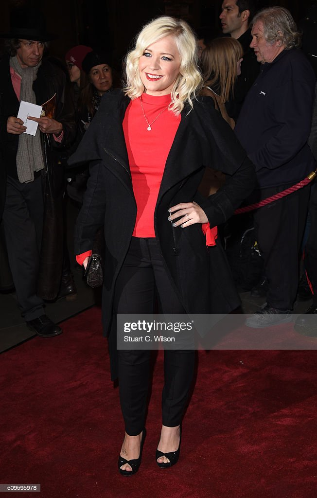 Susanne Shaw attends the World Premiere of 'End Of Longing', written by and starring Matthew Perry at Playhouse Theatre on February 11, 2016 in London, England.