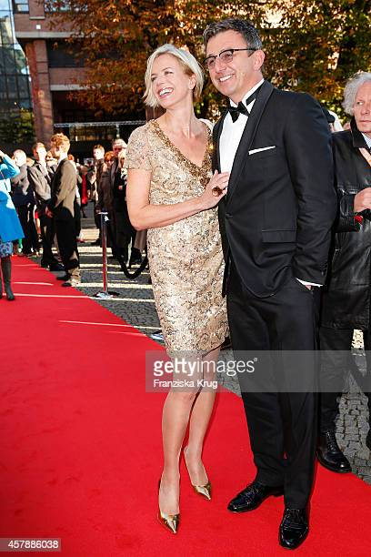 Susanne Sigl and Hans Sigl attend the ECHO Klassik 2014 on October 26 2014 in Munich Germany