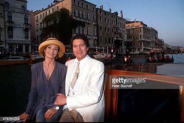 'Susanne Uhlen Christian Quadflieg 13teilige RTLSerie ''Sonntag Partner'' am in Venedig Italien '