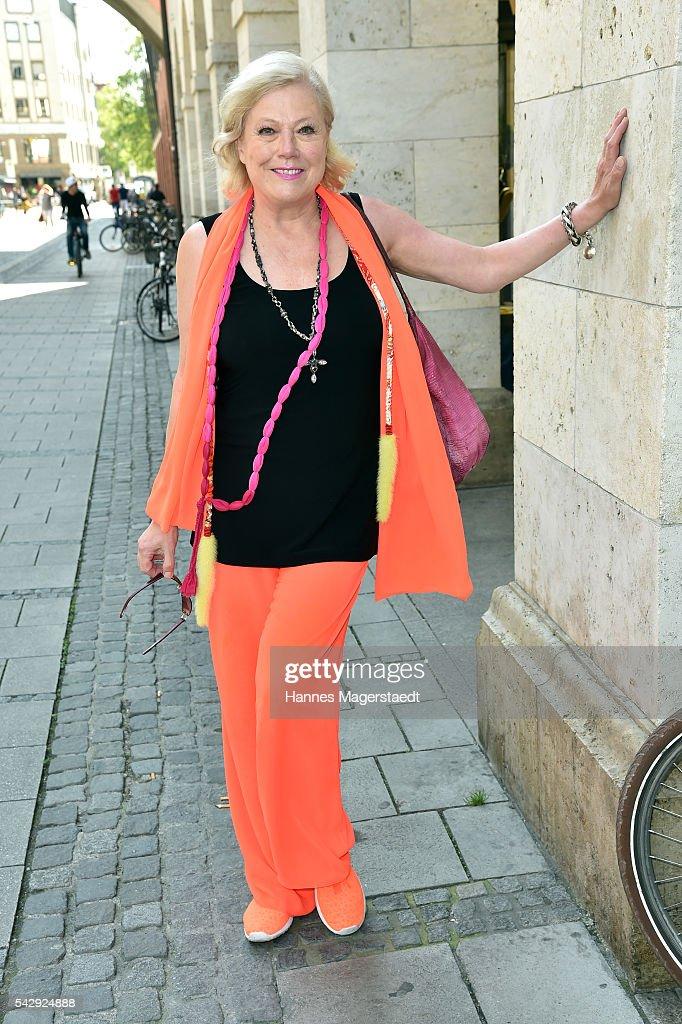 Susanne Wiebe during the 'Sommerfest der Agenturen' at Hugo's on June 25, 2016 in Munich, Germany.