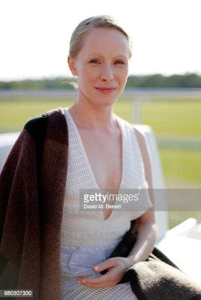 Susanne Wuest attends the Audi Polo Challenge at Coworth Park on May 7 2017 in London United Kingdom