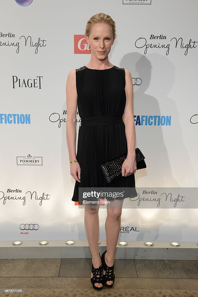 Susanne Wuest attends the Berlin Opening Night Of Gala & Ufa Fiction during the 64th Berlinale International Film Festival at Hotel Das Stue on February 6, 2014 in Berlin, Germany.