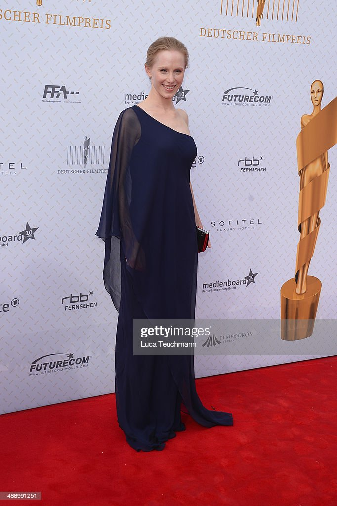 Susanne Wuest attends the Lola - German Film Award 2014 at Tempodrom on May 9, 2014 in Berlin, Germany