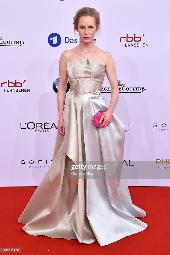 Susanne Wuest attends the Lola - German Film Award (Deutscher Filmpreis) on May 27, 2016 in Berlin, Germany.
