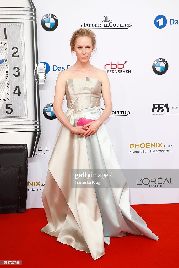 Susanne Wuest during the Lola German Film Award (Deutscher Filmpreis) 2016 on May 27, 2016 in Berlin, Germany.