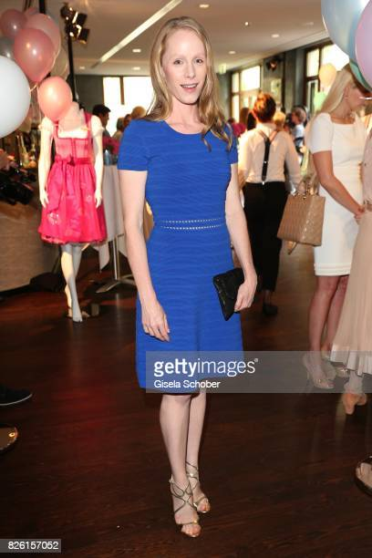 Susanne Wuest during the presentation of Victoria Swarovski's dirndl collection 'Candy Collection' by Krueger at 'The Charles' Hotel on August 3 2017...