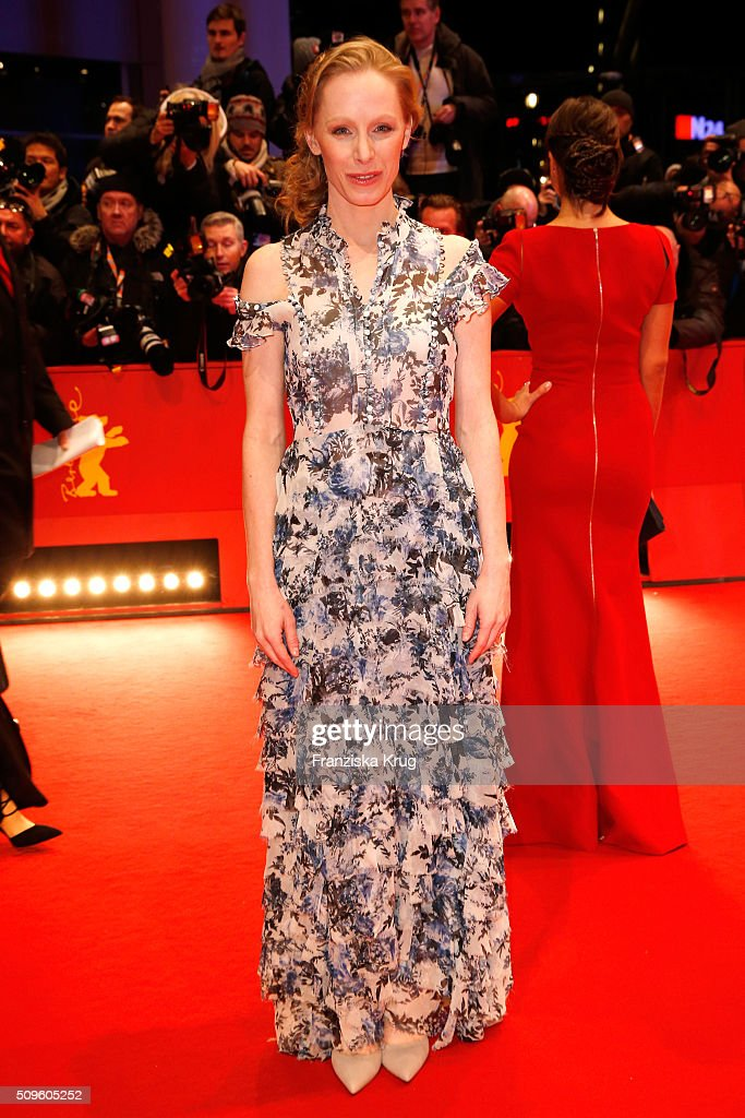 Susanne Wuest the 'Hail, Caesar!' premiere during the 66th Berlinale International Film Festival Berlin at Berlinale Palace on February 11, 2016 in Berlin, Germany.