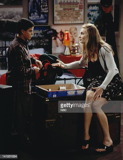 SUSAN 'Susan's Minor Complication' Episode 5 Aired Pictured Ross Malinger as Doug Naughton Jr Brooke Shields as Susan Keane Photo by Paul...