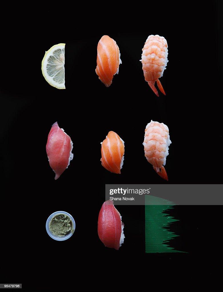Sushi and the Accompaniments